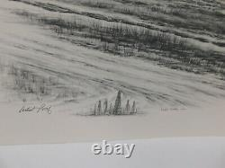 115/7 Gordan Kissinger 1980 Artist Proof Oil Tower Picture With Small Drawing