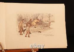 1883-1889 3vols Randolph Caldecott's Graphic Pictures First Editions Drawings Il