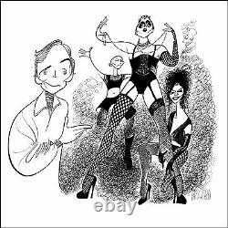 Al Hirschfeld's ROCKY HORROR PICTURE SHOW Hand Signed Limited Edition Lithograph