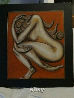 Art Work Picture done in Pastels Size 28x 24.5 OPEN TO OFFERS