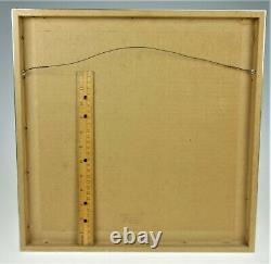 Female Nude Sketch Frame Signed Bart Boucher 64 Art Picture Modern Contemporary
