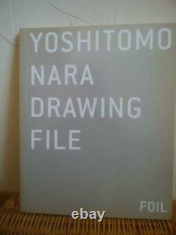 Foil Yoshitomo Nara Art Picture Book Drawing File World Collection from Japan