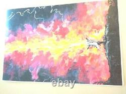 Hand made picture on canvas A picture of Mount Sinai