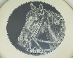 Horse Pen and Ink Drawing Picture Dat. 10.11.1906