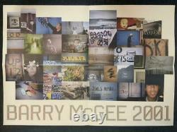 MARGARET KILGALLEN Poster Barry McGee 2001 double side picture drawing Drop Knee