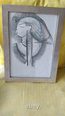 Mary Stork Black And White Egyptian Picture