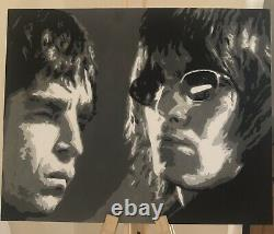 Noel and Liam Gallagher Picture (Oasis)