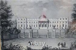 Old Pictures 2 St. Um 1850, Gallery W. Utermann Graphic Gravüre Russia Moscow