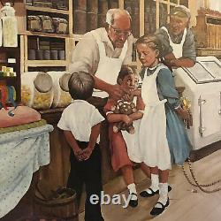 Paul MAC WILLIAMS COUNTRY STORE ART SIGNED PICTURE drawing limited edition /450