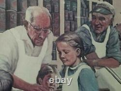 Paul MAC WILLIAMS COUNTRY STORE SIGNED PICTURE drawing limited edition NUMBERED