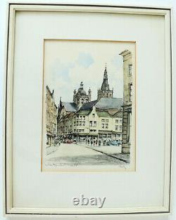 Picture Art Hertogenbosch Feather Drawing Aquarell Cathedral Gallery Borzo Rutz