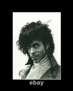 Prince singer-songwriter drawing from artist art image picture canvas