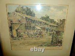 Rough & Ready Gold Rush Town Stagecoach Nevada County George Mathis Picture