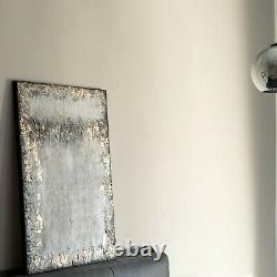 Textured picture Wall paint, Painted Canvas. Very creative with gold flares