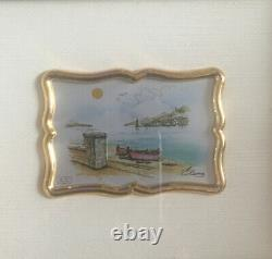 Vintage Creazioni Artistiche Pictures Handmade In Italy Signed By Artist ArtDeco