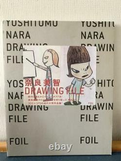 Yoshitomo Nara Drawing File World collection Art Picture Book from USED JPN